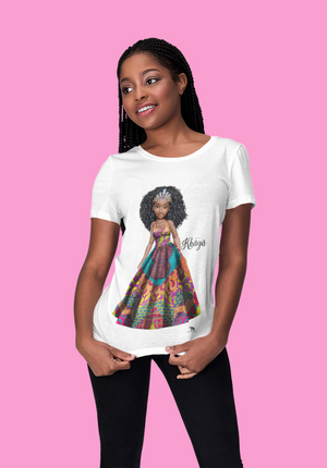 Adult Princess Khaya Short Sleeve t-shirt