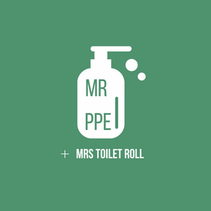 Mr PPE + Mrs Toilet Roll