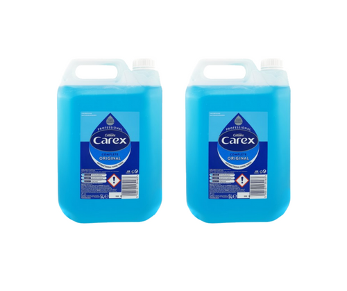 10 Litre Carex Original Antibacterial Hand wash (2 x 5L)