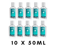 Load image into Gallery viewer, 10 x 50ml Antibacterial Hand Sanitiser Gel - Vector