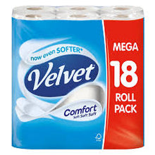 Load image into Gallery viewer, 54 MEGA PACK VELVET TOILET ROLLS