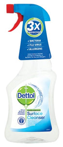 DETTOL SURFACE CLEANER X 6 PACK (500MLS PER BOTTLE)