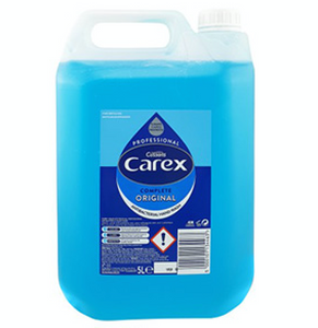 6 x 5 Litre Carex Original Antibacterial Hand wash