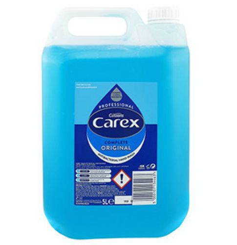 4 x 5 Litre Carex Original Antibacterial Hand wash