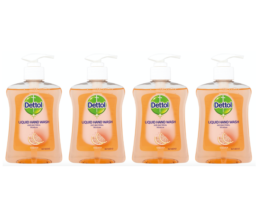 SOLD OUT 4 x 250ml Dettol Handwash Soap
