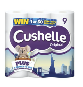 45 Cushelle Soft White Toilet Roll