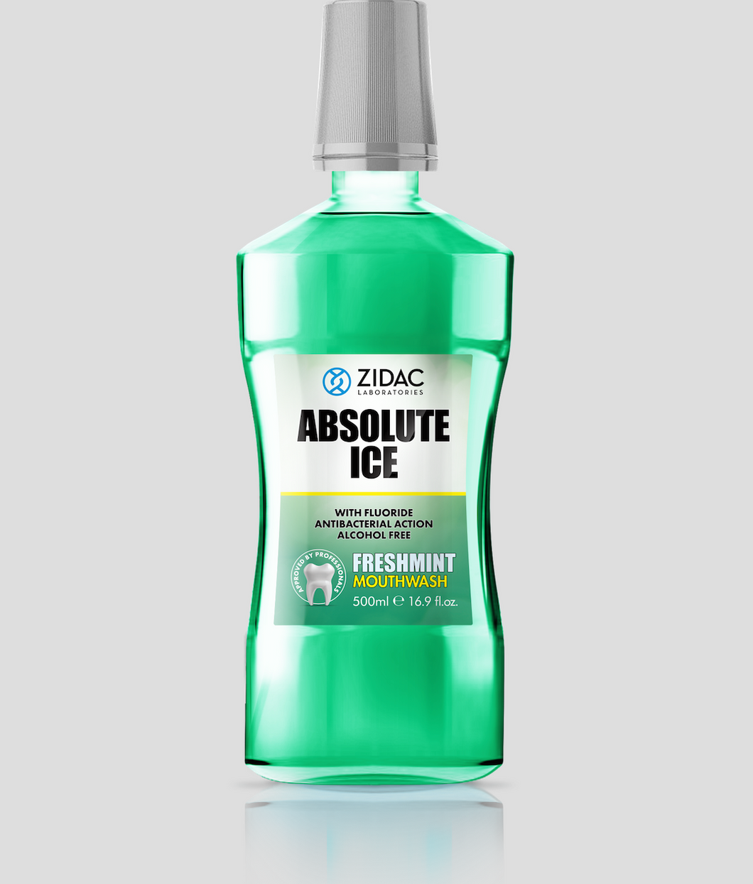 6 x 500ml Freshmint Mouthwash