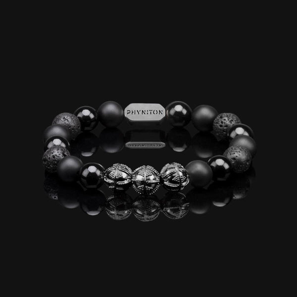 ALL BLACK PREMIUM BLACK GOLD BRACELET 10MM