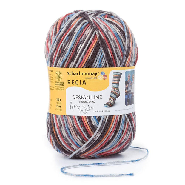 REGIA 6-fädig Color Design Line by ARNE & CARLOS - Fall Night 150g