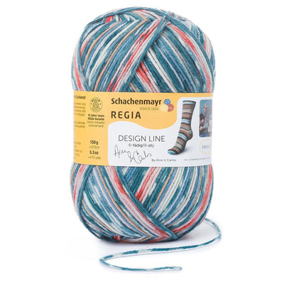 REGIA 6-fädig Color Design Line by ARNE & CARLOS - Summer Night 150g