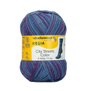 REGIA 4-fädig Color - Manhattan 100g