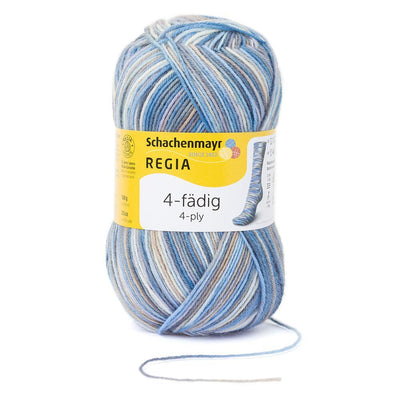 REGIA 4-fädig Color - Sylt 100g