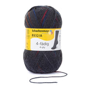 REGIA 4-fädig Color - Spot graphit 100g