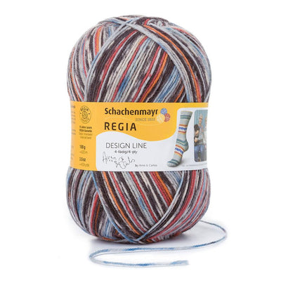 REGIA 4-fädig Color Design Line by ARNE & CARLOS - Fall Night 100g