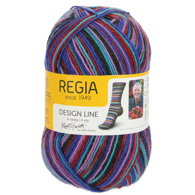 REGIA 4-fädig Color Design Line by Kaffe Fasset - Twilight 100g