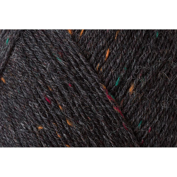 REGIA 4-fädig Tweed - Anthrazit 50g