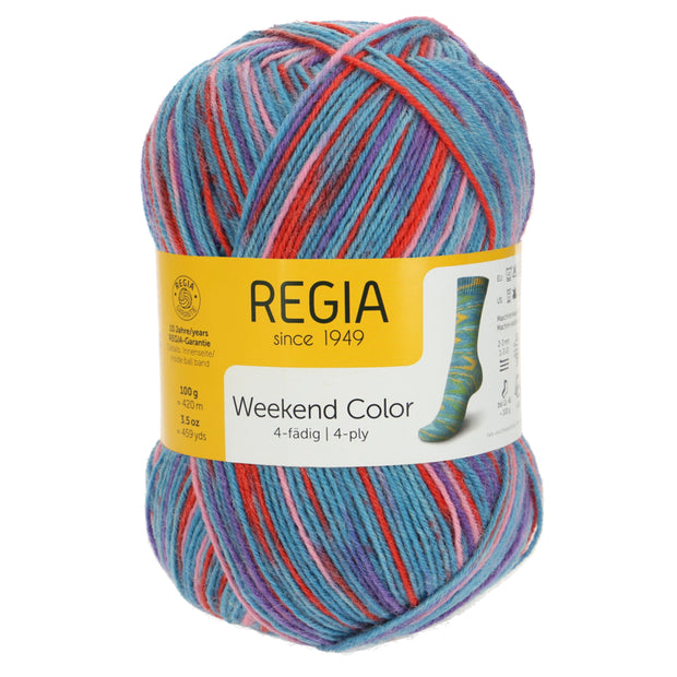 REGIA 4-fädig Color - Schwimmbad 100g