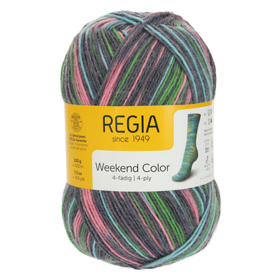 REGIA 4-fädig Color - Shoppingtour 100g