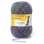 REGIA 4-fädig Color Color mania Indian Night 50g