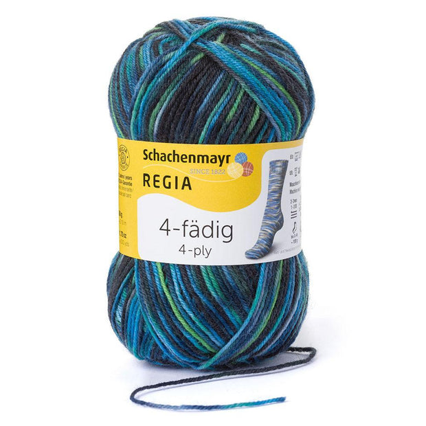 REGIA 4-fädig Color Allround Gras 50g
