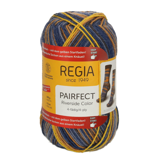 REGIA 4-fädig Color - PAIRFECT - Jetty 100g