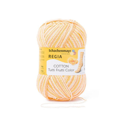 REGIA Cotton Color - Orange 100g