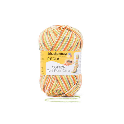 REGIA Cotton Color - Papaya 100g