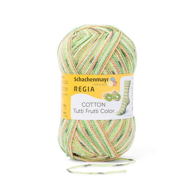 REGIA Cotton Color - Kiwi 100g