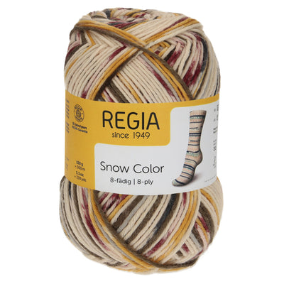 REGIA 8-fädig Color - Bob Ride 150g