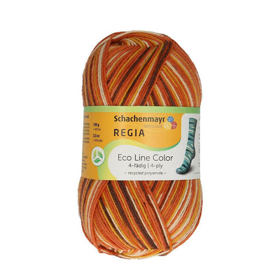 REGIA 4-fädig Color Eco Line Earth 100g