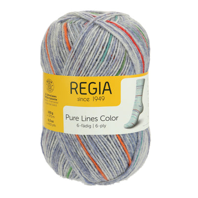 REGIA 6-fädig Color - Pure Denim 150g