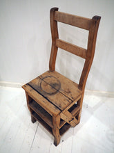 Load image into Gallery viewer, Antique Chair with Ladder