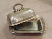 Load image into Gallery viewer, Pewter Butter Dish