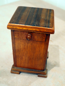 Wooden Box with Drawer and Secret Compartment