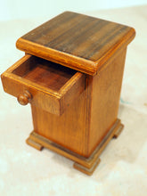 Load image into Gallery viewer, Wooden Box with Drawer and Secret Compartment