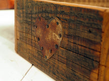 Load image into Gallery viewer, Rustic Wooden Box