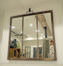 Load image into Gallery viewer, Rustic Metal Framed Mirror