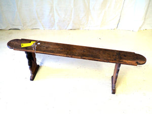 Walnut Bench Seat