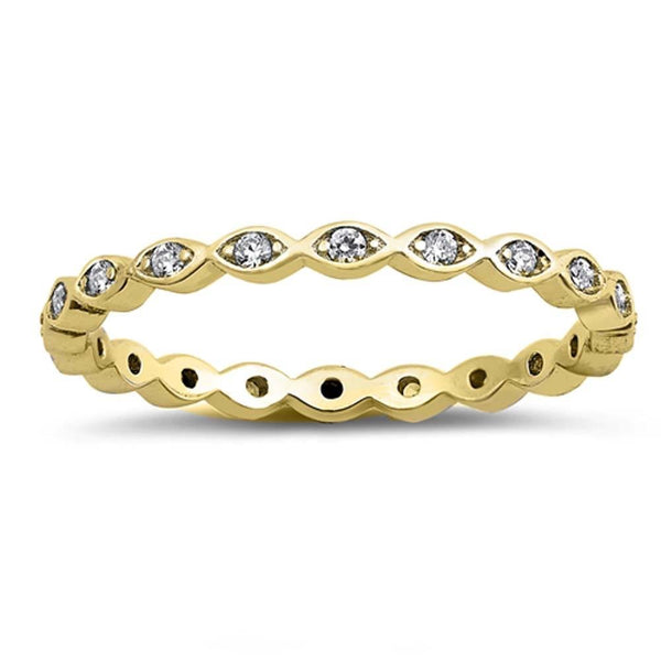 Dainty Gold Plated Stackable