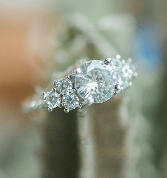 Stunning 1.5 Carat Round Solitaire Engagement Ring