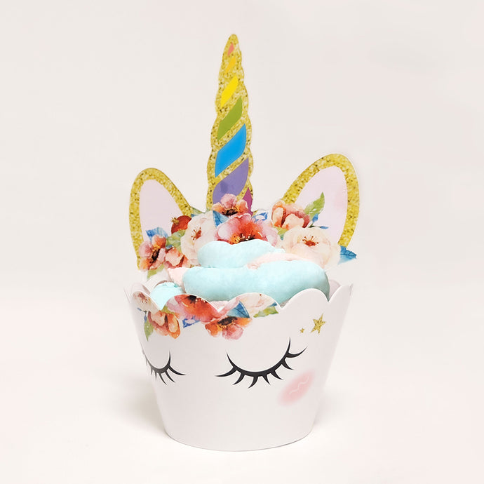 How to Make The Easiest Unicorn Cupcake in 5 Steps