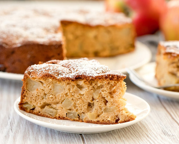 French Apple Cake 4 Ingredients
