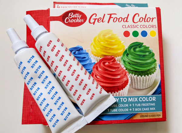Easiest Unicorn Cupcake Food Coloring