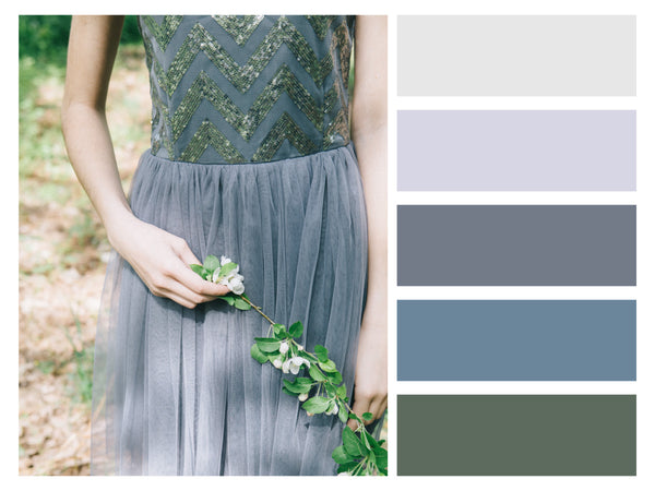 Color Palette Fashion Snaps Dusty Pastel Tones