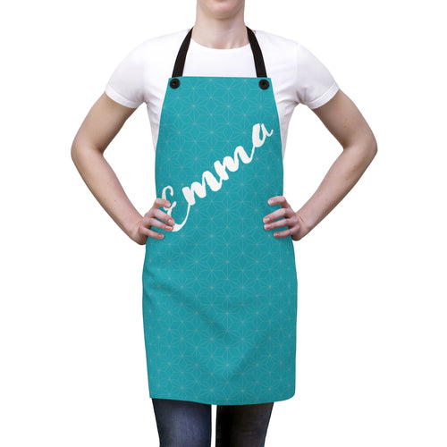 Traditional Japanese Hemp Pattern Personalized Apron-Accessories-Cheery Toppers