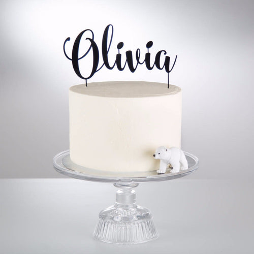 Personalized Decorative Birthday Cake Topper
