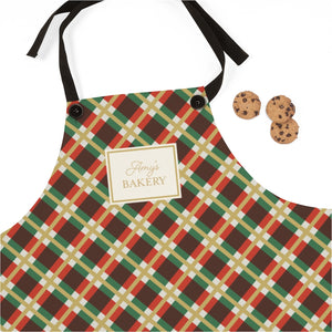Holiday Pattern Personalized Apron-Accessories-Cheery Toppers