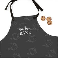 Load image into Gallery viewer, Live Love Bake Flower Pattern Apron-Accessories-Cheery Toppers