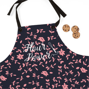 Pink and Purple Flour Power Apron-Accessories-Cheery Toppers