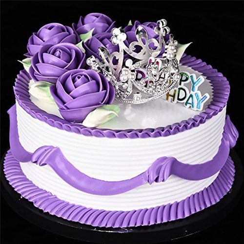 Mini Crown Princess Topper (Silver or Gold)-Bat Mitzvah, Princess, Princess Baby Shower, Quinceanera, Sweet Sixteen-Gold-Cheery Toppers